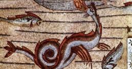 Aquileia Giona pesce inghiottiti mangiati