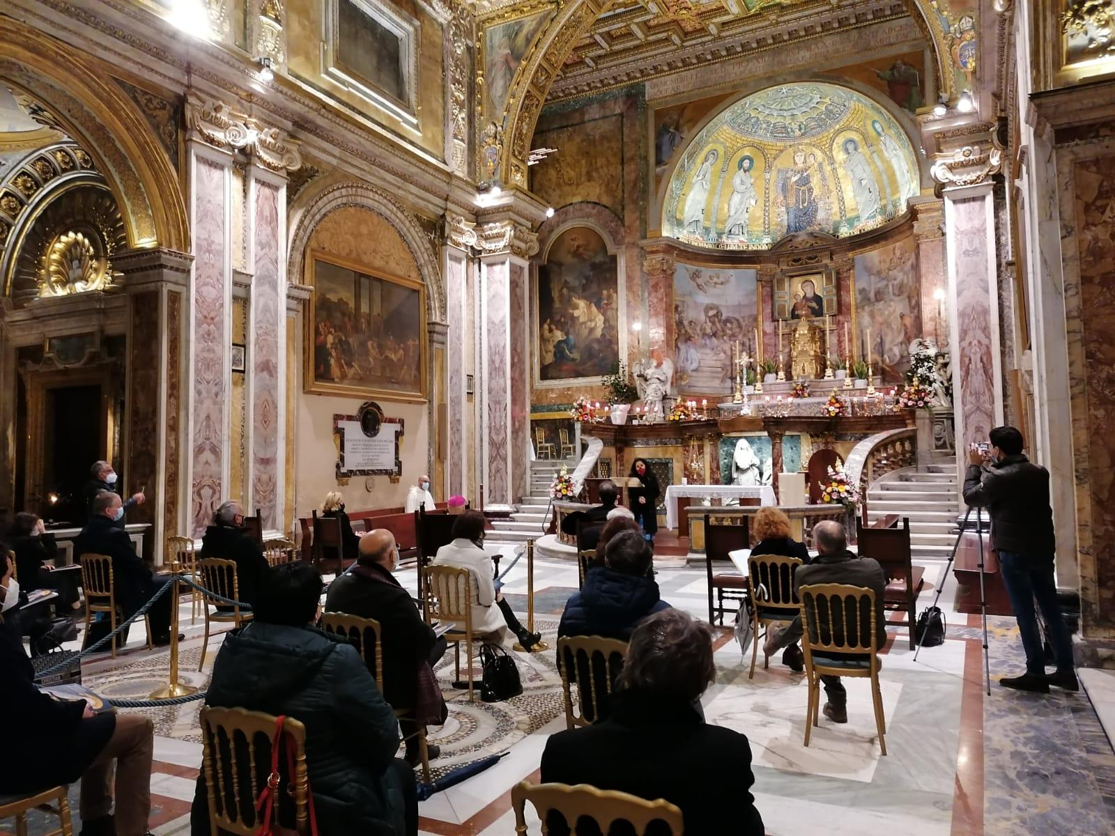 Restauro Basilica Santa Francesca Romana