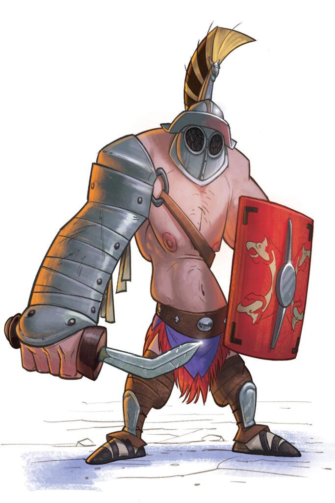 fumetti mostra Gladiatori