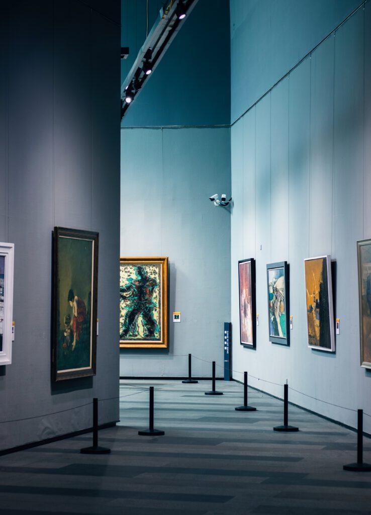 quadri galleria a cosa serve la storia dell'arte