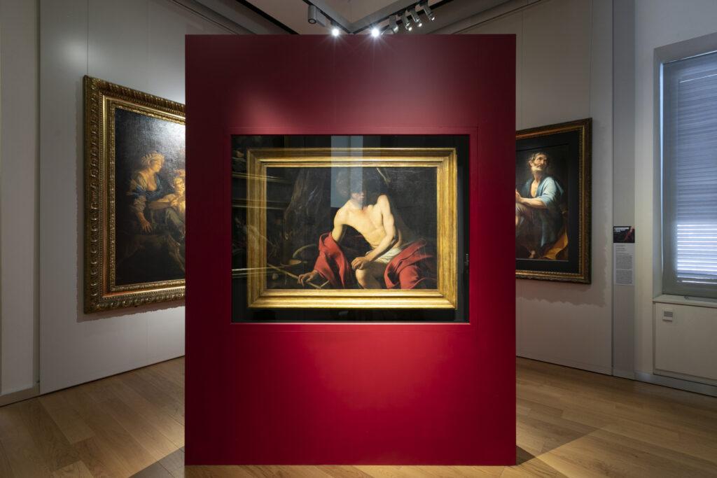 Caravaggio San Giovanni Battista Galleria Sabauda Musei Reali di Torino