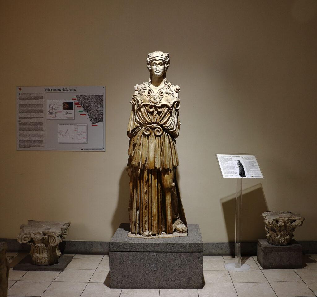 Museo Archeologico Nazionale di Civitavecchia - Athena Parthenos Lara Anniboletti