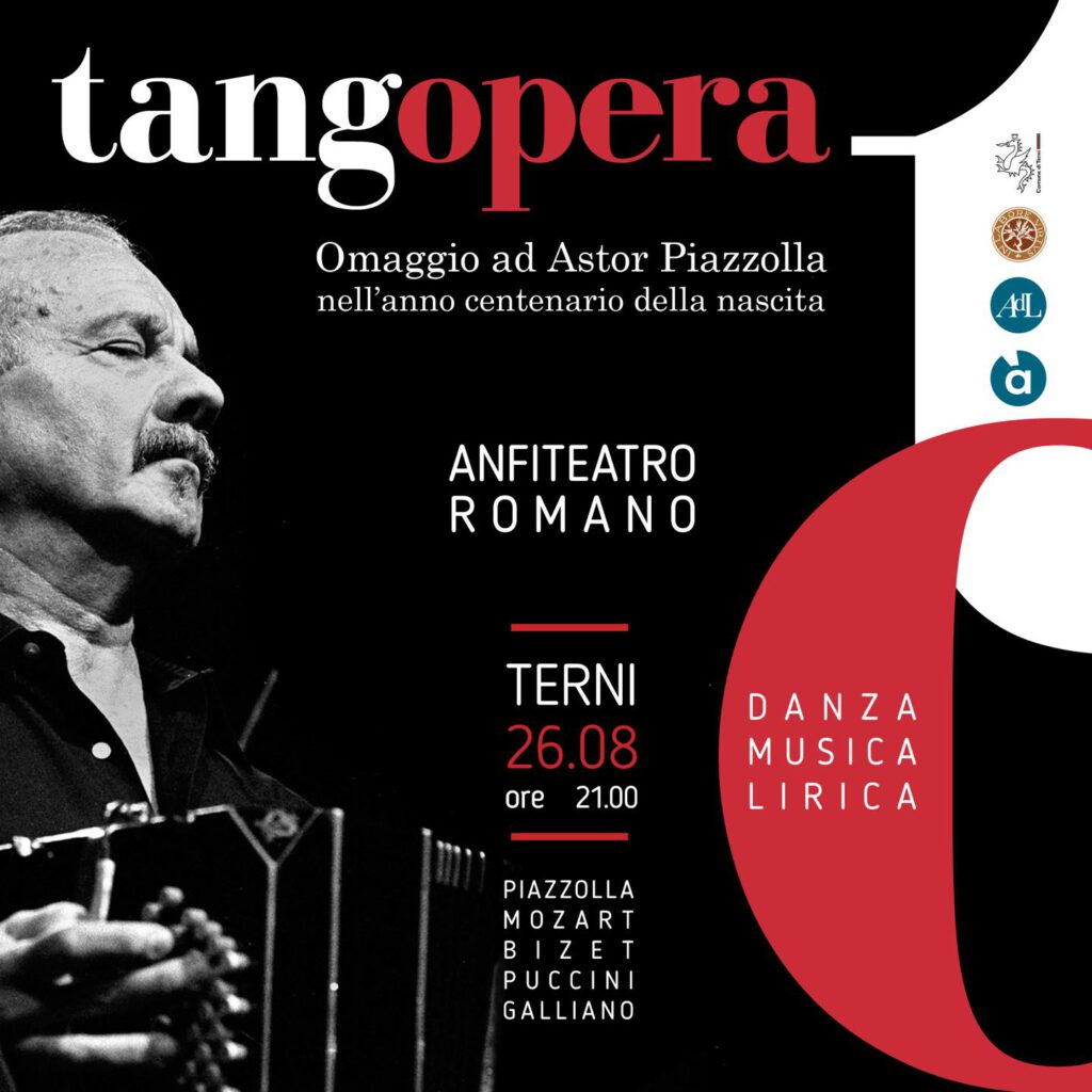 TangOpera Astor Piazzolla Paola Crisigiovanni