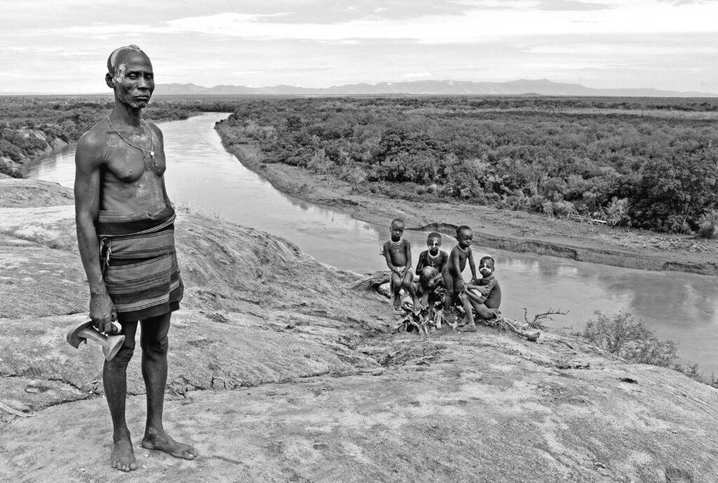 Etiopia lontano fiume