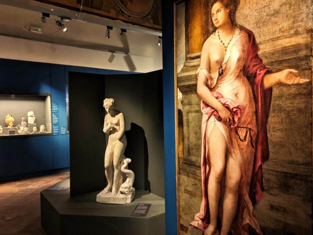 mostra Cipro sala del mito di Venere
