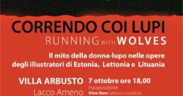 Correndo coi lupi running with the wolves mostra Lacco Ameno